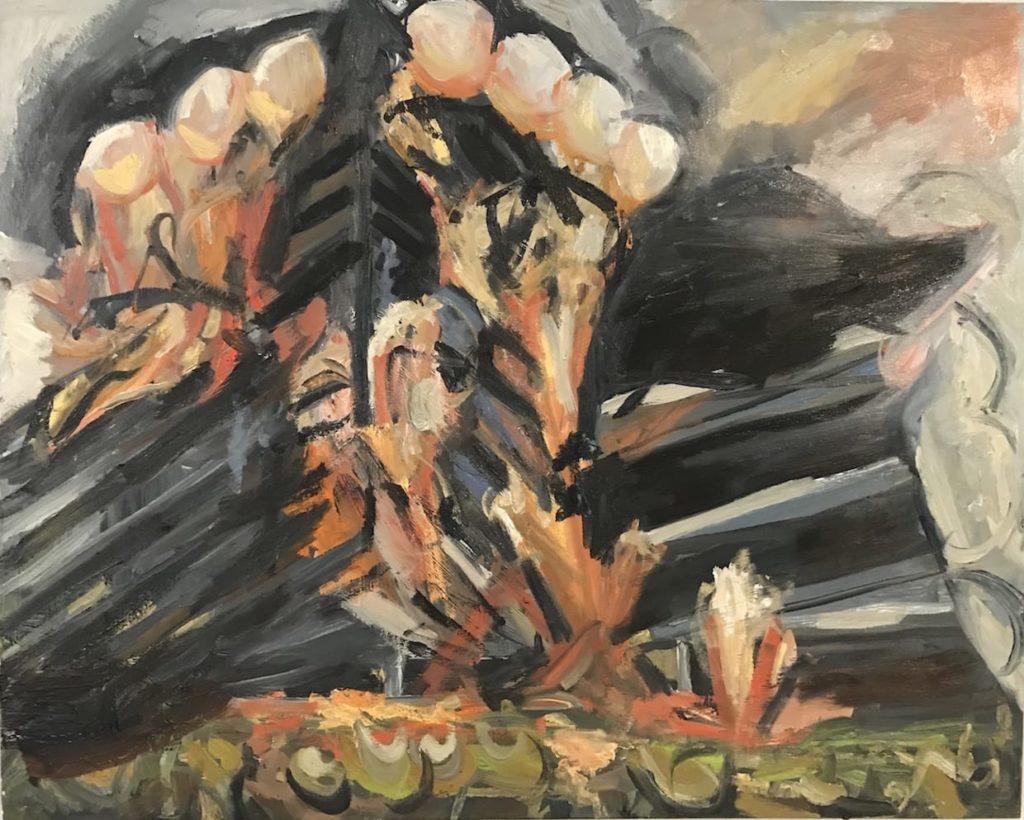 Painting by Celeste Morton