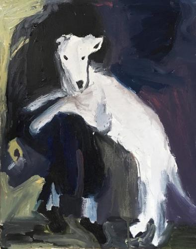Joan Brown's Dog