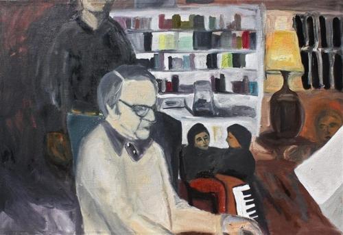 Man on Piano